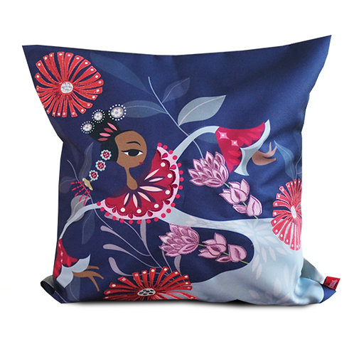 Semarak Jakarta Embroidered Cushion Cover