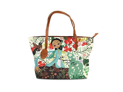 Flamboyant Garden Tote Bag