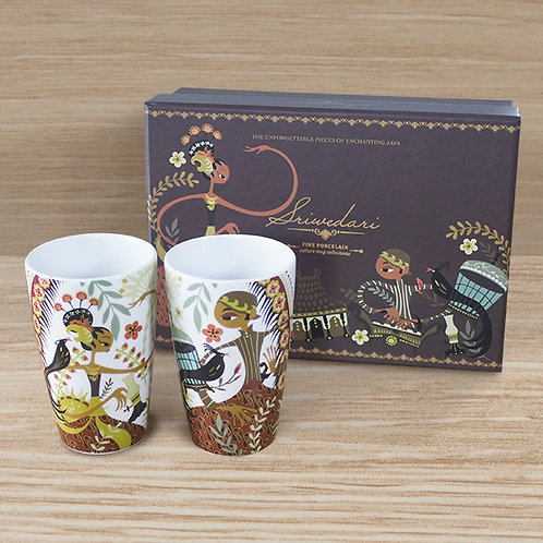 Sriwedari Brown Mugs Hampers