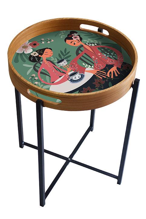 Tea Talk Peranakan Series Tray/Table