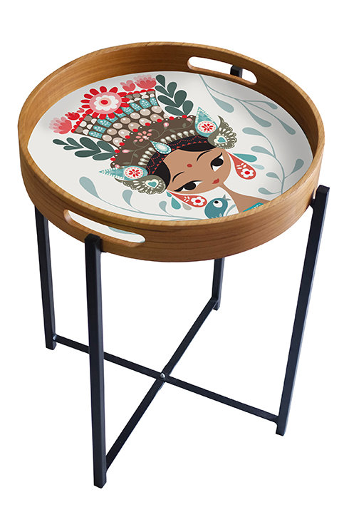 Little Bird and the Janger Dancer Tray/Table