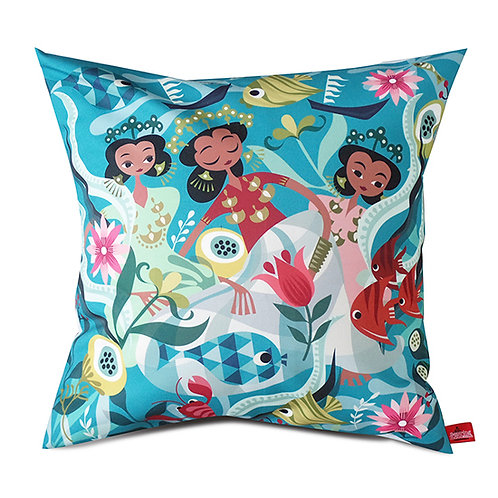 Bugis Anak Dara Cushion Cover