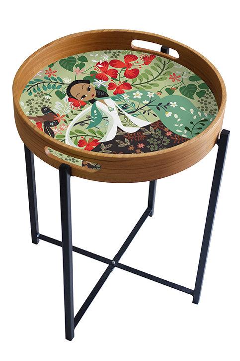Flamboyant Garden Tray/Table
