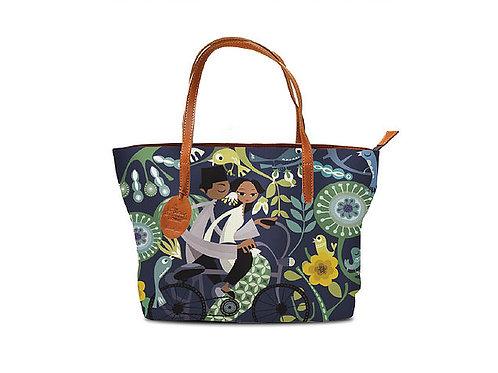 Honeymooners in Blue Tote Bag