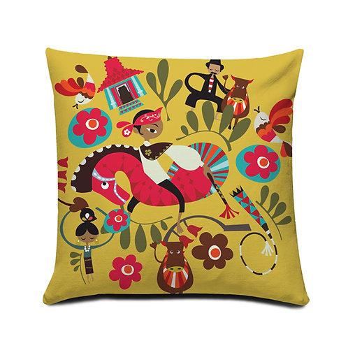 Grapyak Jawa Timuran Cushion Cover