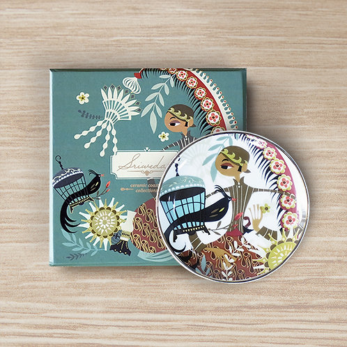 Sriwedari Kangmas Ceramic Coaster