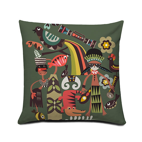 Mambesak Papua Cushion Cover