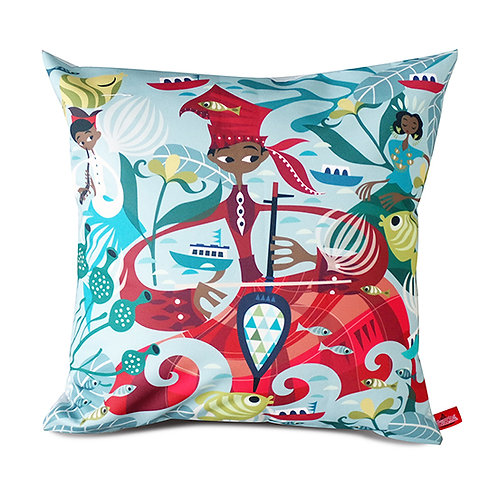 Bugis Joka Joka Cushion Cover