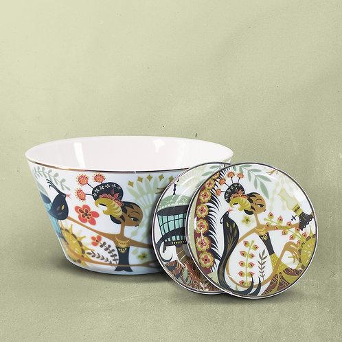 Sriwedari Bowl & Trinket Dish Bundling