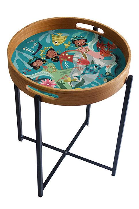Bugis Anak Dara Tray/Table