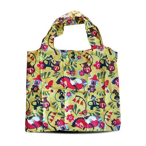 Grapyak Jawa Timuran Foldable Eco Shopping Bag
