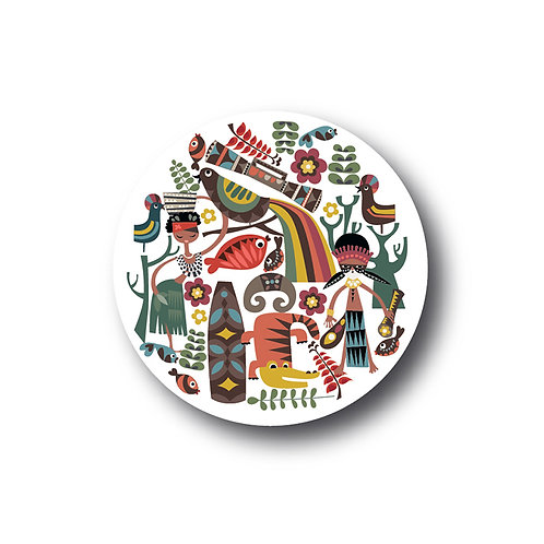 Mambesak Papua Plate