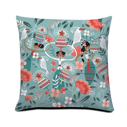 Tiga Dara Light Cushion Cover