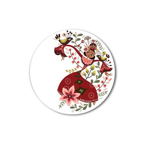 Dancing Jakarta Small Plate