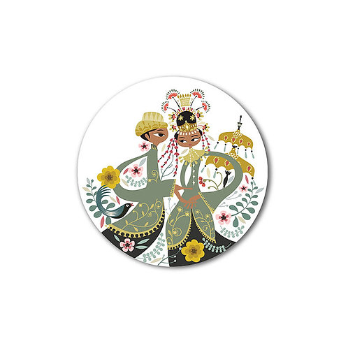 Betawi Bride Small Plate