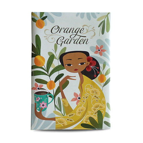 Notebook Orange Garden Peranakan Series