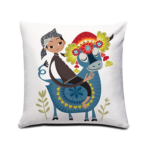Makepung Winner Cushion Cover