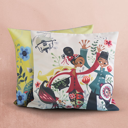 Embroidered Cushion Cover Bundling