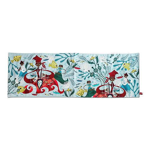 Bugis Joka Joka Embroidered Table Runner