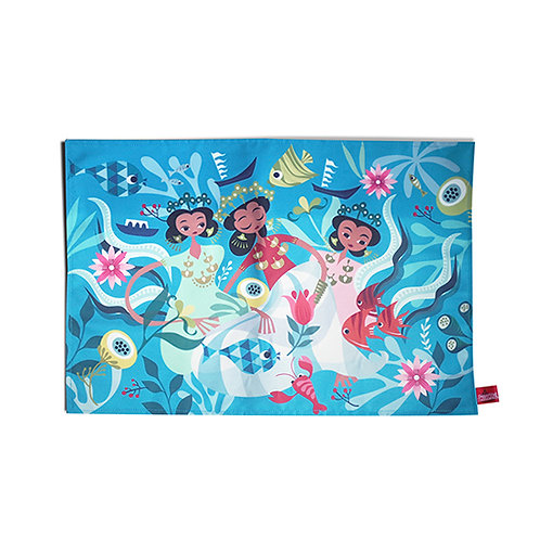 Bugis Anak Dara Canvas Placemat