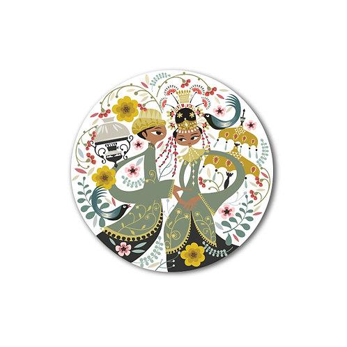 Betawi Bride Plate