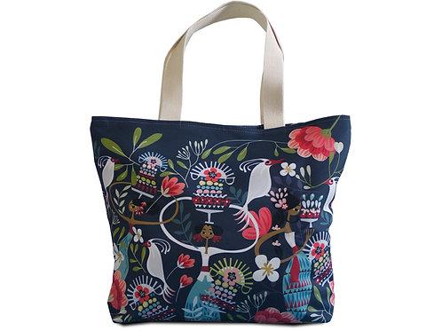 Tiga Dara Dark Beach Bag