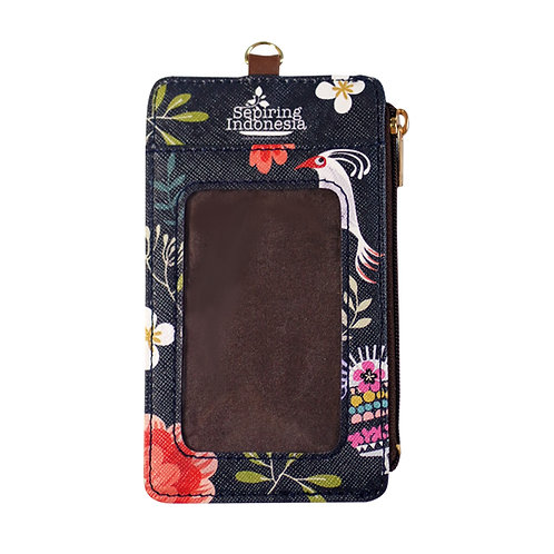 Tiga Dara Dark ID Card Holder