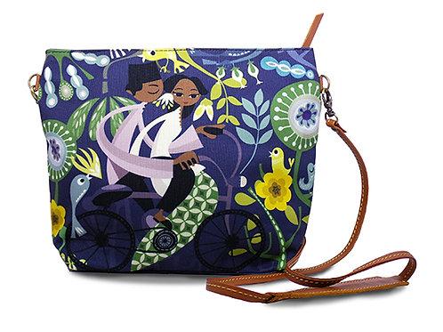 Honeymooners in Blue Sling Bag