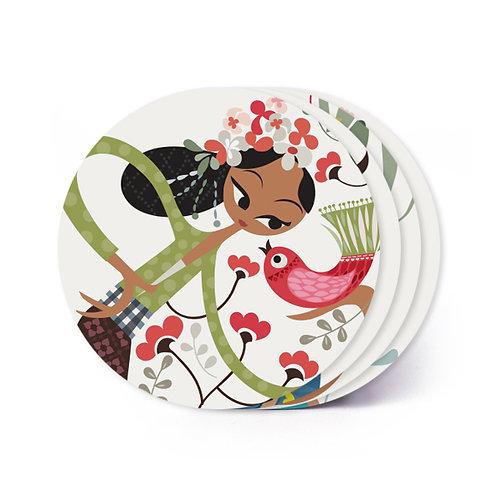 Ulik Bali Board Coaster
