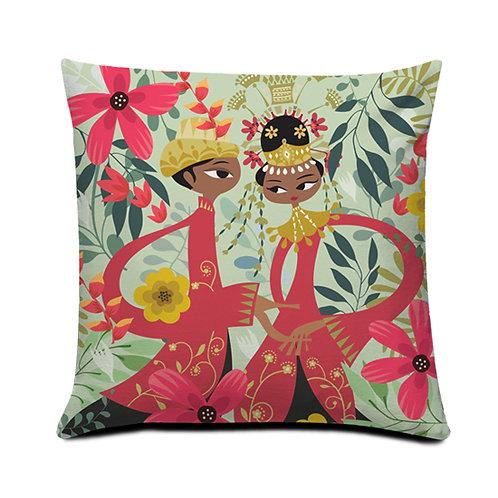 Betawi Bride Cushion Cover