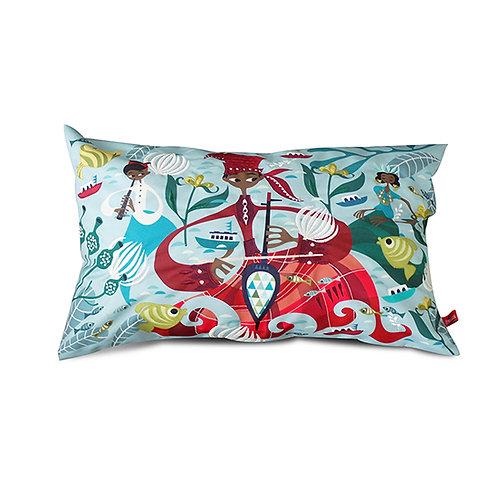 Bugis Joka Joka Embroidered Long Cushion
