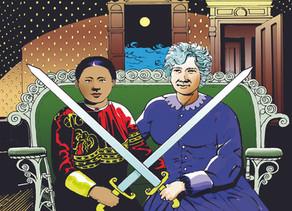 Meet the 2 of Swords