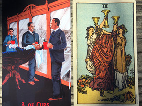 Side-By-Side: 3 of Cups