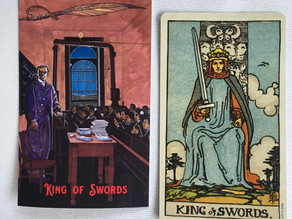 Side-By-Side: King of Swords