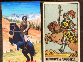 Side-By-Side: Knight of Wands