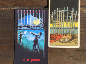 Side-By-Side: 10 of Swords