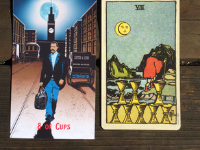 Side-By-Side: 8 of Cups