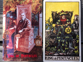 Side-By-Side: King of Pentacles