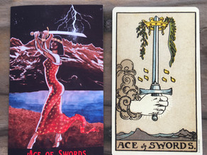 Side-By-Side: Ace of Swords