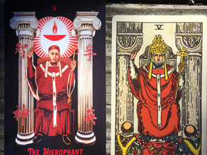 Side-By-Side: The Hierophant