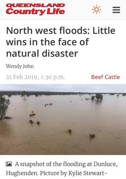 QLD Country Life floods story
