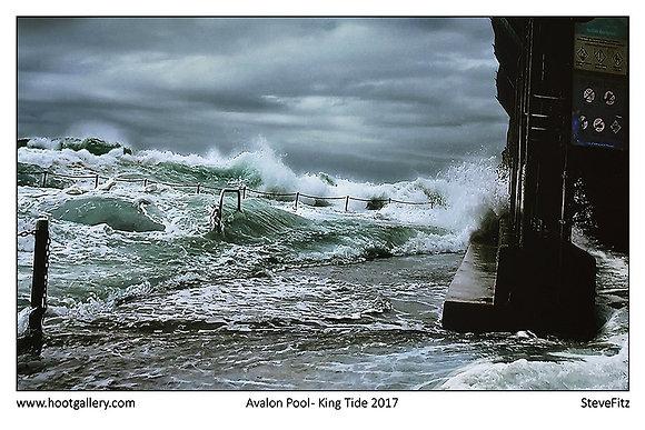 Avalon Pool - King Tide 5 Dec 17