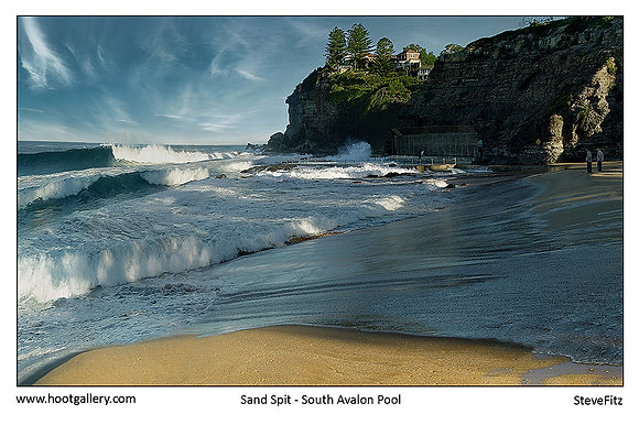 Sand Spit - South Avalon Pool
