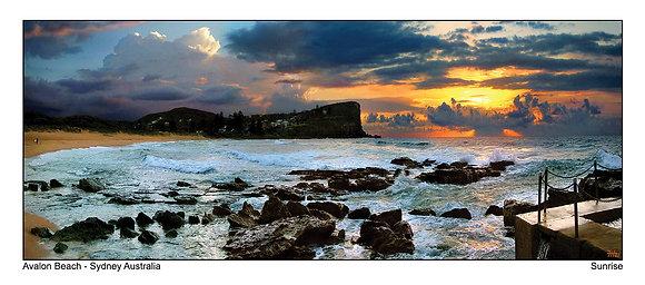 Avalon Beach Sunrise