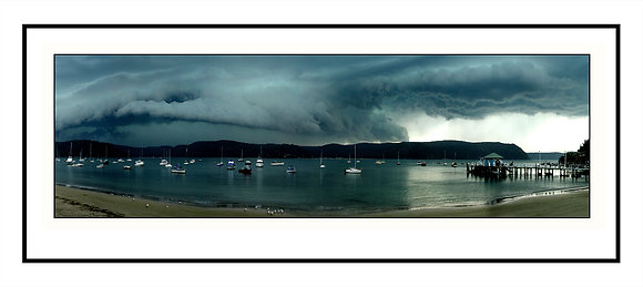 Storm on the Western Foreshore