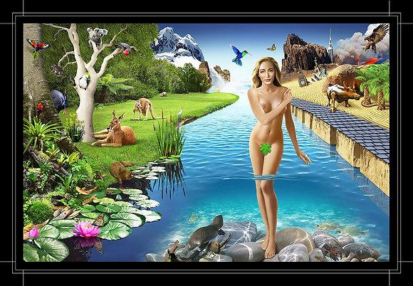 Goddess - Canvas