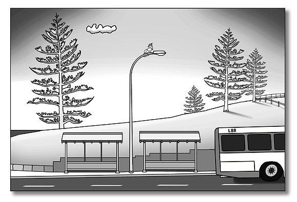 L88 - Avalon Bus Stop