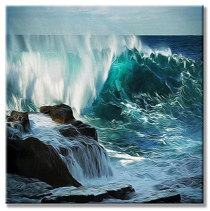 Deep Ocean Wave