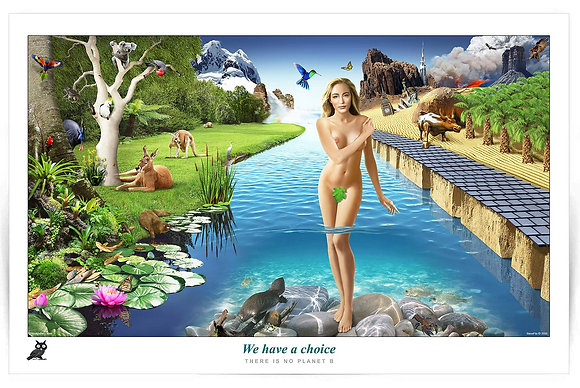 We have a choice - Poster