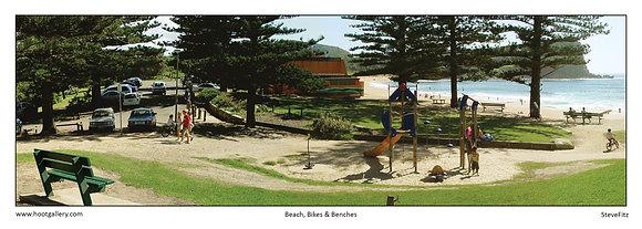 Beach, Bikes & Benches